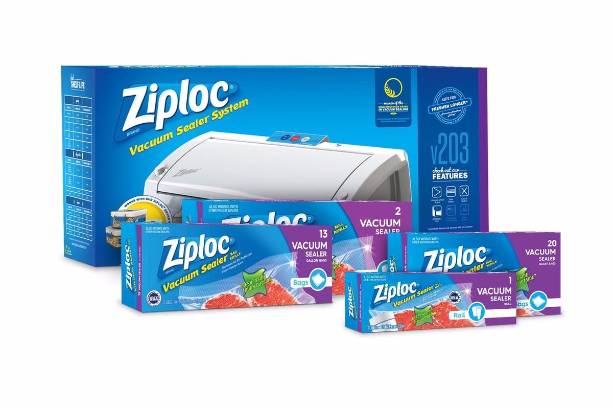 Ziploc Brand Vacuum Sealer System Keeps Food Fresh Blog