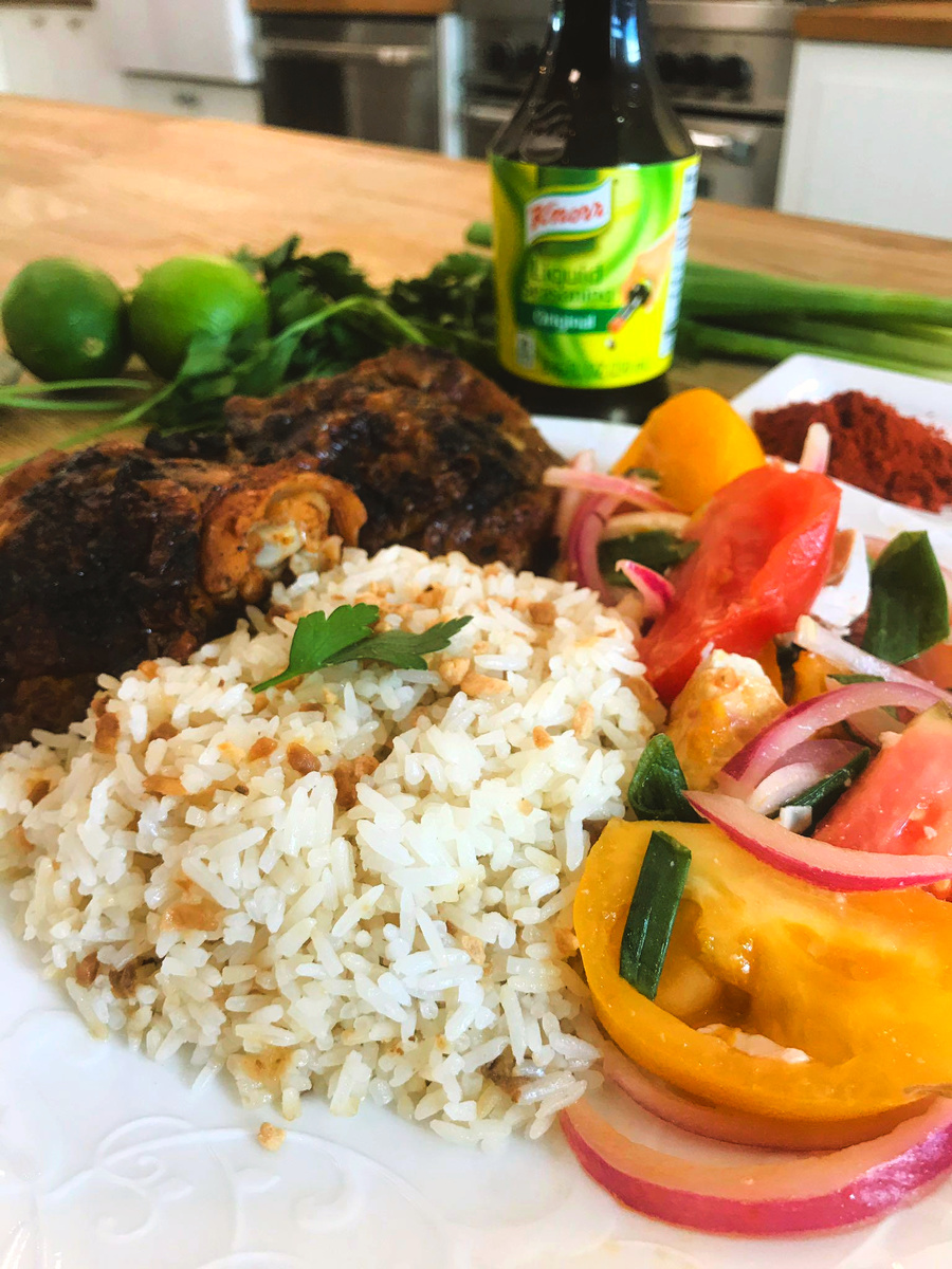 Filipino Garlic Fried Rice with Knorr Liquid Seasoning - Recipes
