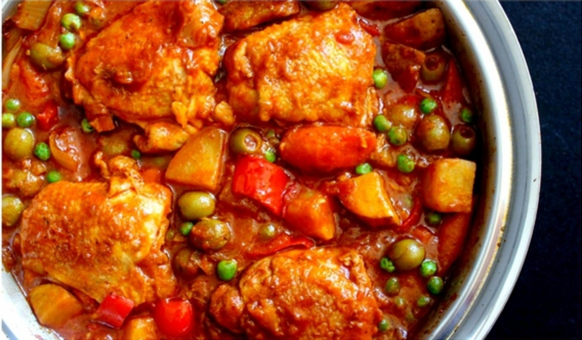 Chicken afritada spanish style chicken stew recipes momma cuisine momma cuisine momma cuisine momma cuisine forumfinder Gallery